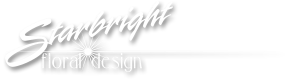 Starbright Floral Design Logo